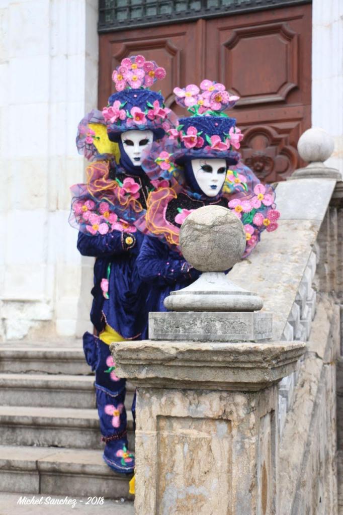 Michel SANCHEZ - Carnaval Vénitien Annecy 2018