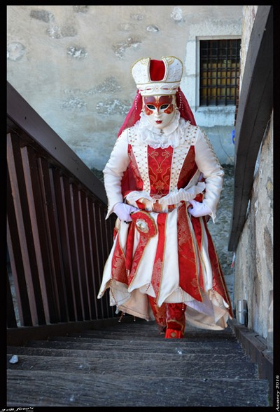 Bruno VAGNOTTI - Carnaval Vénitien Annecy 2016