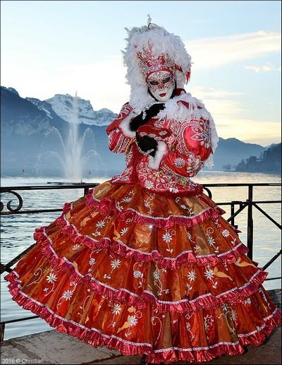 Christian POURRE - Carnaval Vénitien Annecy 2016