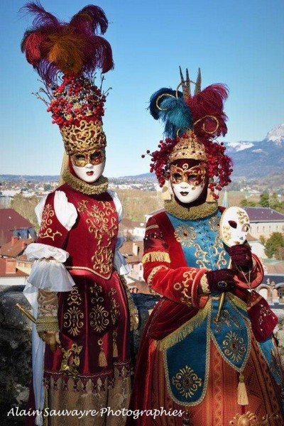 Alain SAUVAYRE - Carnaval Vénitien Annecy 2019