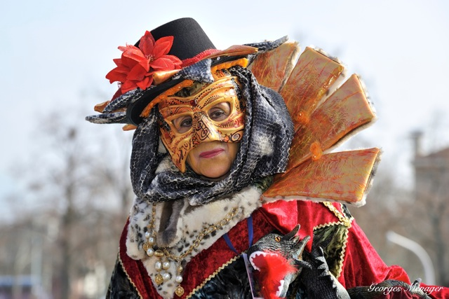 Georges MENAGER - Carnaval Vénitien Annecy 2018