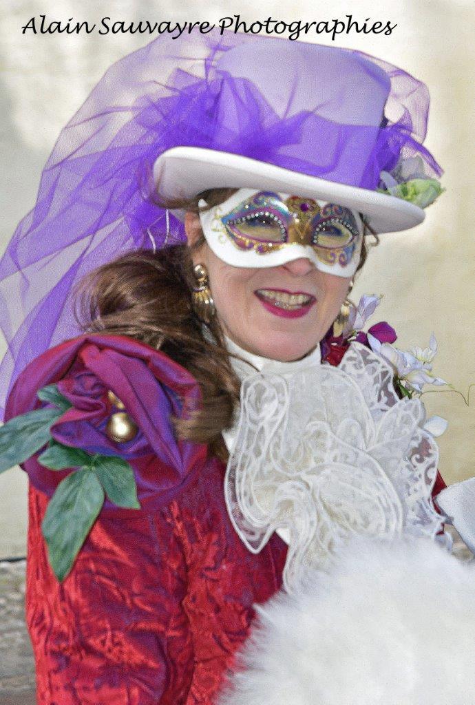 Alain SAUVAYRE - Carnaval Vénitien Annecy 2018