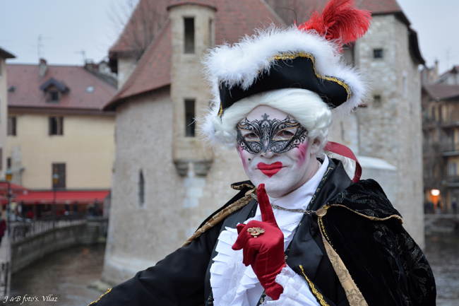 Bruno VAGNOTTI - Carnaval Vénitien Annecy 2018