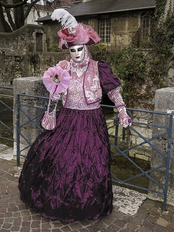 Michel RAYOT - Carnaval Vénitien Annecy 2018
