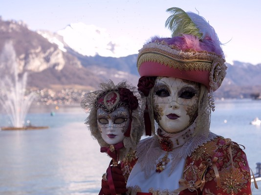 Michel Rayot - Carnaval Vénitien Annecy 2016