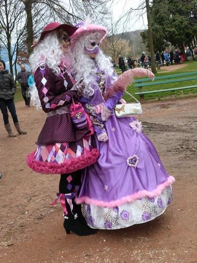 Jacqueline GOISET - Carnaval Vénitien Annecy 2016