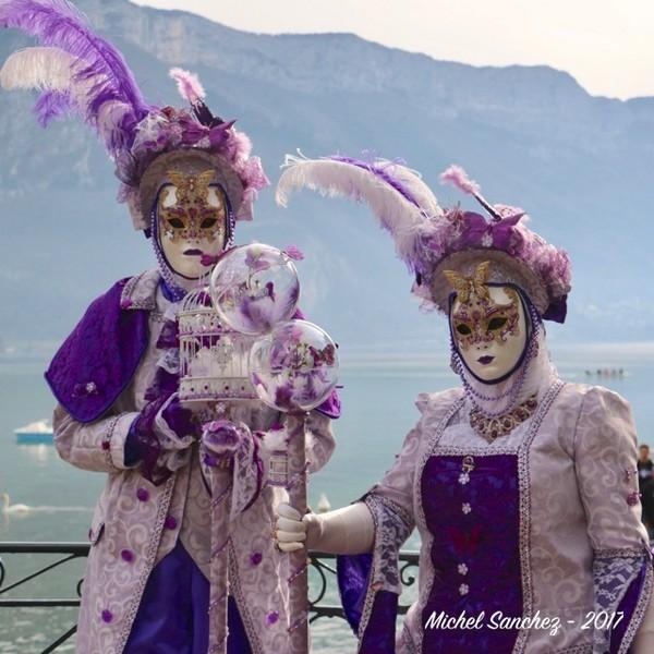 Michel SANCHEZ - Carnaval Vénitien Annecy 2017 - 00010