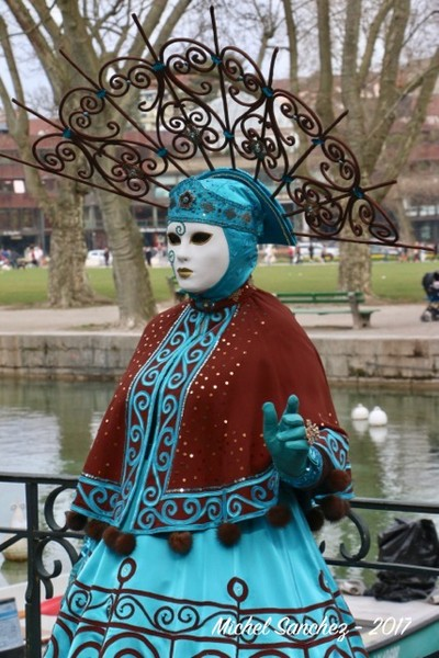 Michel SANCHEZ - Carnaval Vénitien Annecy 2017 - 00028
