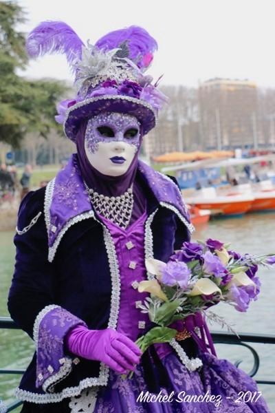 Michel SANCHEZ - Carnaval Vénitien Annecy 2017 - 00032