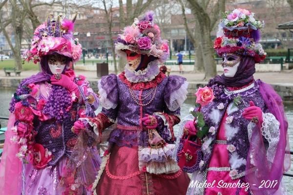 Michel SANCHEZ - Carnaval Vénitien Annecy 2017 - 00034