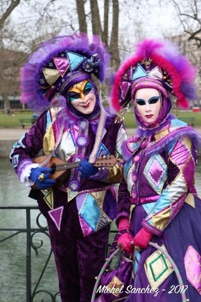 Michel SANCHEZ - Carnaval Vénitien Annecy 2017 - 00039