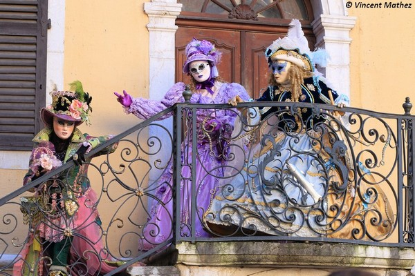 Vincent Mathez - Carnaval Vénitien Annecy 2016