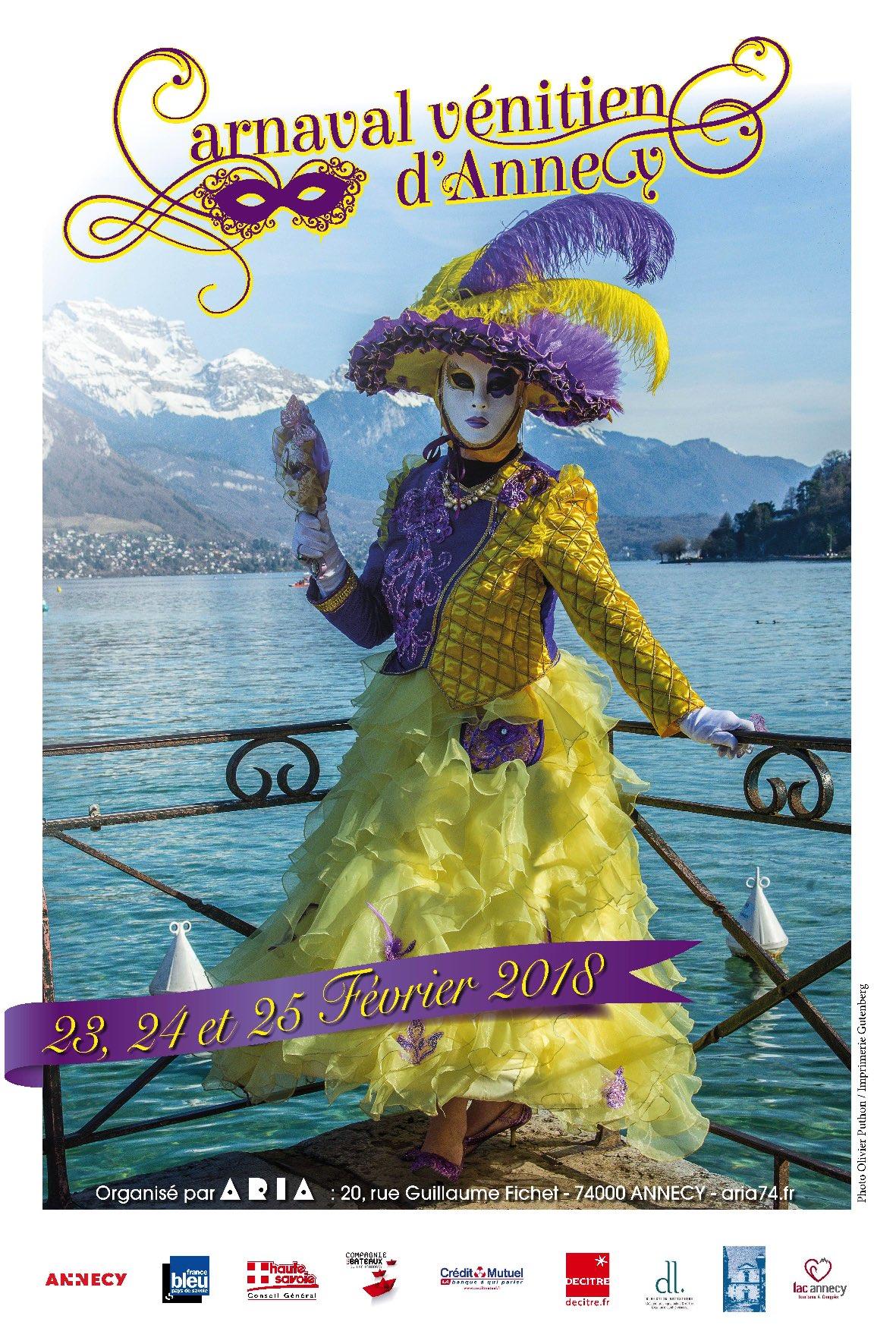 124199 affiche carnaval venitien aria 2018