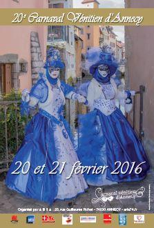 Affiche carnaval 2016